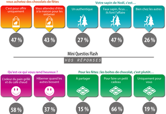 Résultats des questios Flash
