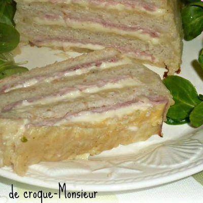 Terrine croque monsieur (+ idée menu)