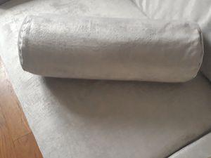 Housse pour coussin cylindrique DIY