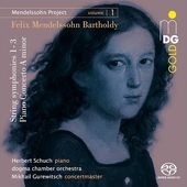 """dogma's """"Mendelssohn Project"""" has started! Volume 1 featuring Herbert Schuch, piano - out now!"""