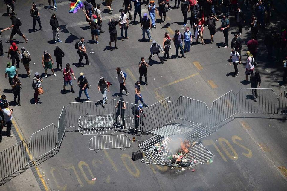 Troubles et manifestations se poursuivent au Chili 40 jours après