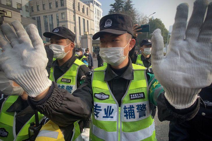 Chine: 4 ans de prison pour la «journaliste citoyenne» qui a couvert le Covid