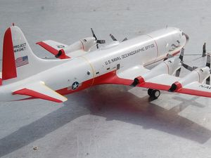 Lockheed P3 ORION du Project Magnet de la Navy (par Yves P.)