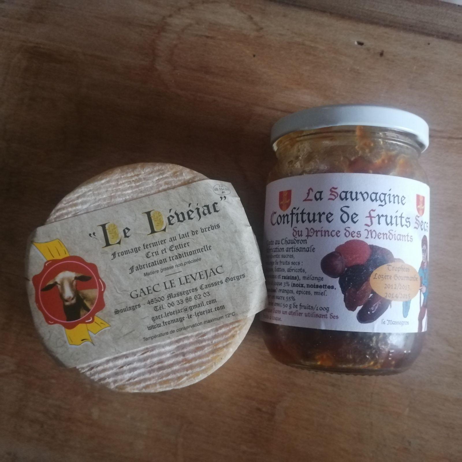 Apéritif dînatoire lozérien et aveyronnais (cuisine et vacances)