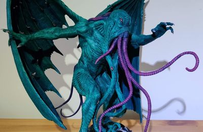 Reclusive ¨Phoenix Avatar of Cthulhu painted