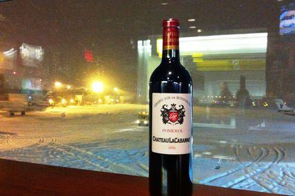 Snowstorm in New York ... La Guardia Airport ...