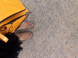 Look de sortie d'école et selfie avec les cadeaux de MP