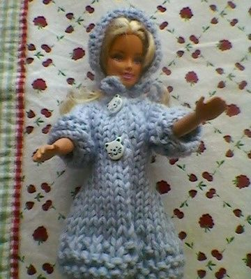tuto gratuit Barbie  : manteau