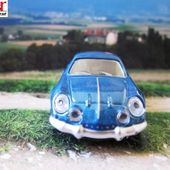 RENAULT ALPINE A110 1970 BOITE NOREV RENAULT TOYS 3 INCHES - car-collector.net