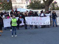 Par centaines à La Rochelle contre l'esclavage