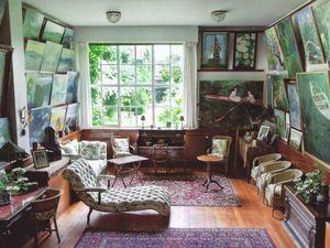 Salon-atelier de Claude Monet. Entre passé et présent.