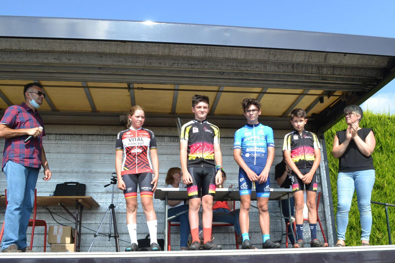 Courses de Mégrit (22): écoles de Cyclisme: 4 septembre 2021