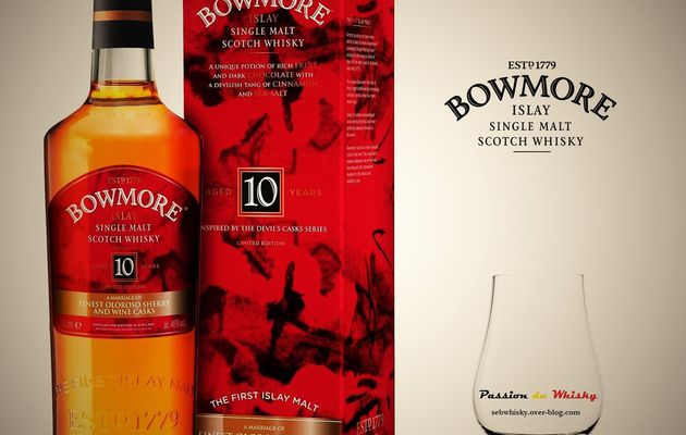Bowmore 10Y 'Inspired By The Devil's Casks Series'