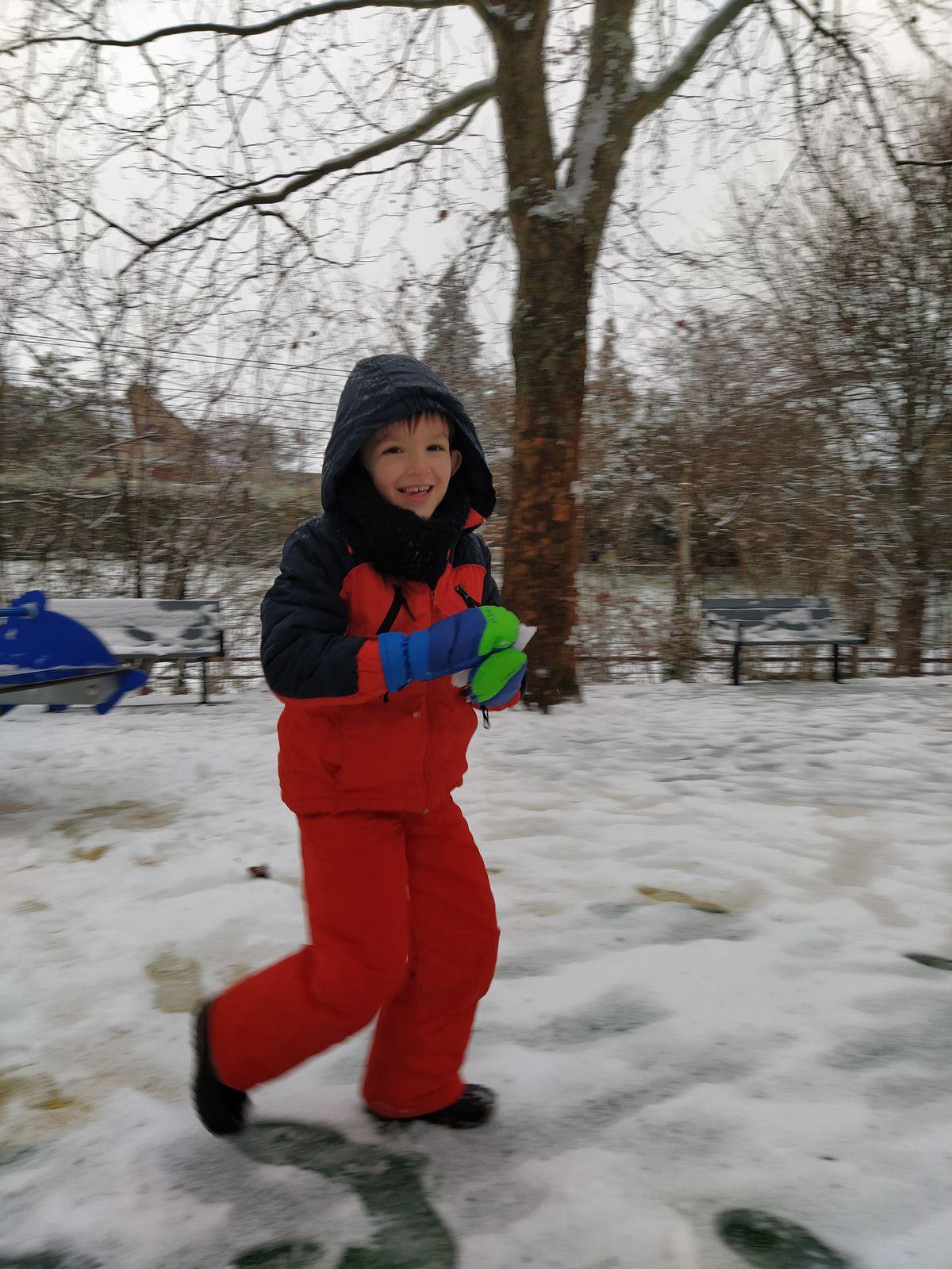 Nos premières neiges
