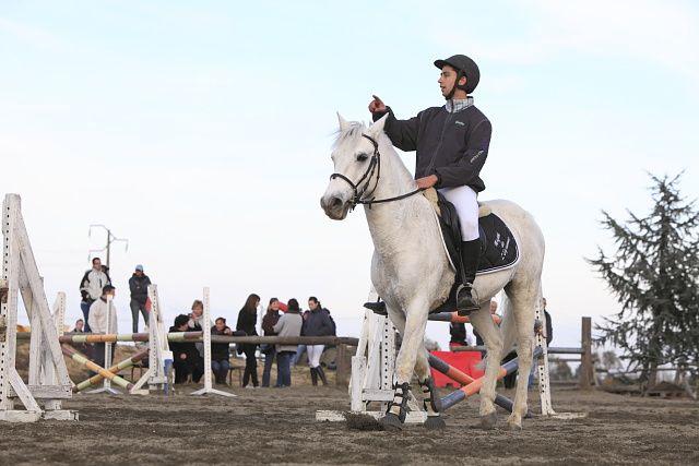 Concours CSO au poney club de Leguevin le 20/11/2011
