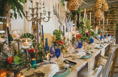 7  Décorations de table orientales luxueuses
