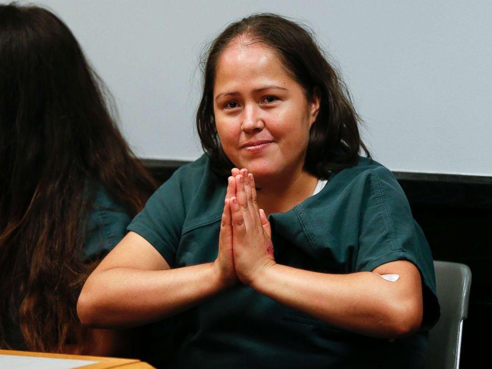 Imágenes de Isabel Martinez, asesinó a toda su familia, menos a un miembro de la misma.- El Muni.