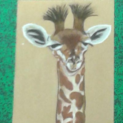 Pastel n°14 : Girafon