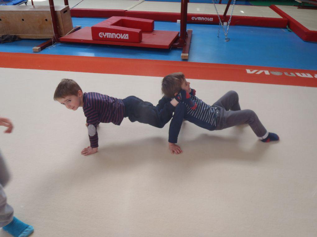 MS Sylvie : accrobates et gymnastes