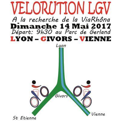 Dimanche 14 mai 2017 à 9h30 : 1ère Vélorution Régionale à Lyon Parc de Gerland en détail