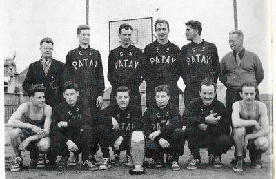 CS PATAY l'équipe championne de France de Basket corporatif 1955