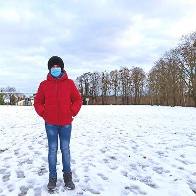 La neige au SEM de Walbourg vu par Luka et Paul.