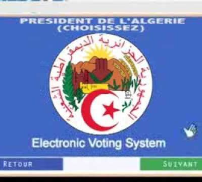 TEST DU VOTE ELECTRONIQUE 2014 EN ALGERIE