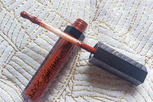Nyx, Slip Tease, Full Color Lip Lacquer