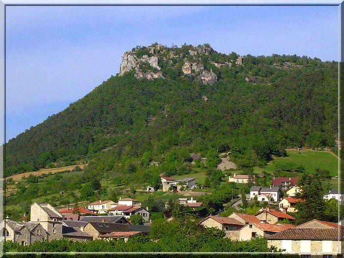 Diaporama château de CAYLUS à La Cresse