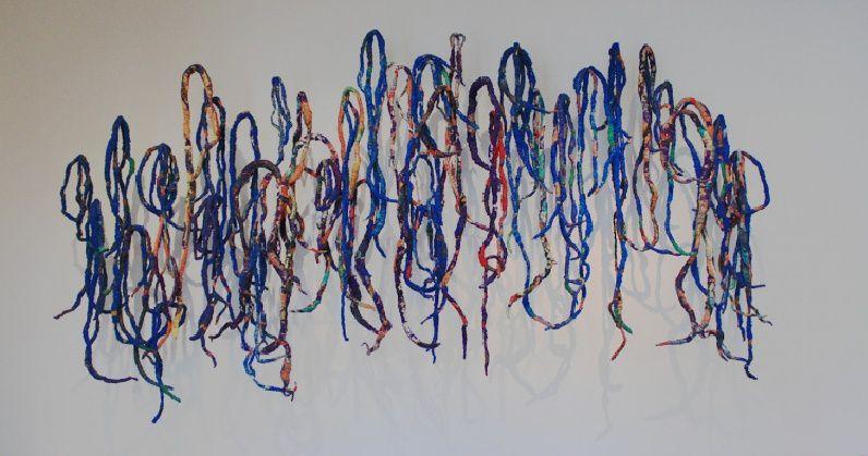 """Sheila Hicks, """" Lignes de vie """"  au Centre Pompidou - Paris"""
