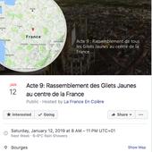 """Les gilets jaunes annoncent déjà un acte 9, """"au centre de la France"""""""