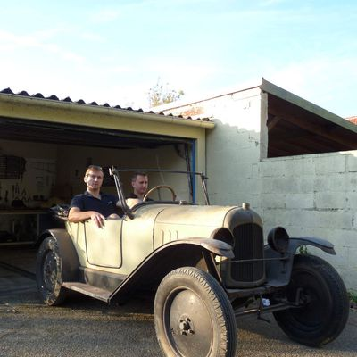 Restauration d'une Citroen 5 Hp de 1922