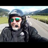 58 Goldwing Unsersbande Tirol 2015 Resia vers Couvent Monte Maria