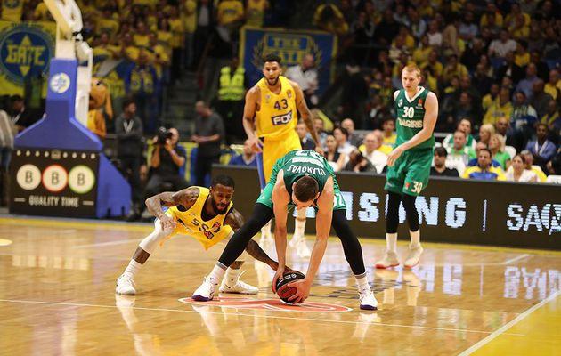 Le Maccabi Tel-Aviv se relance face au Zalgiris Kaunas