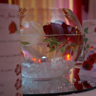 decoration mariage - decorations tables mariage