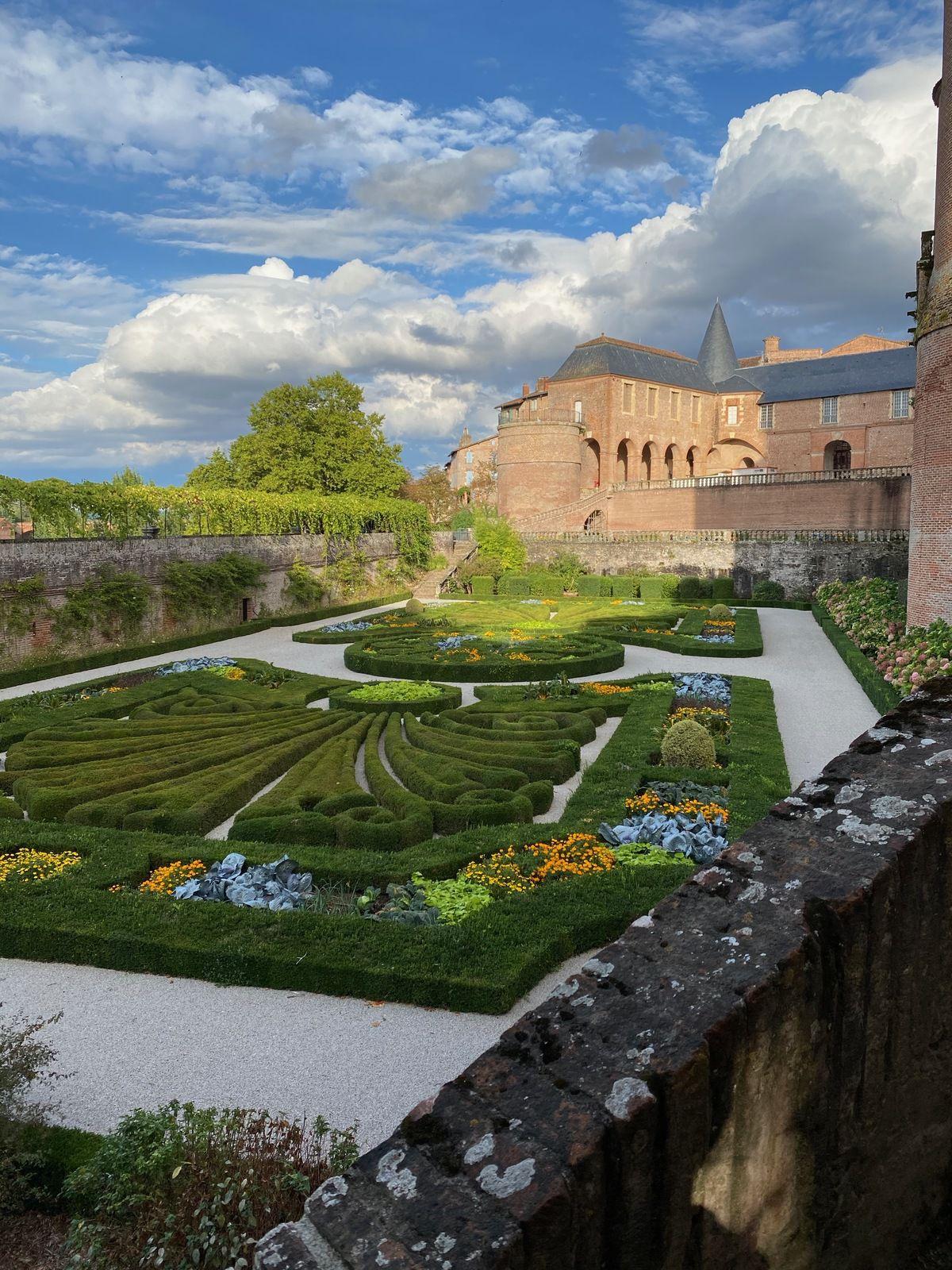 Jardin du Palais de la Berbie - Albi, Tarn