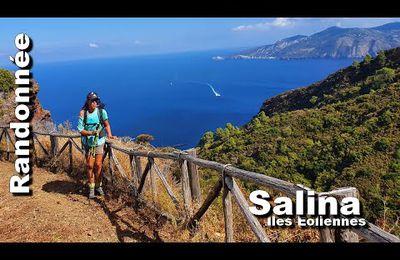 Vidéo : randonnée - traversée de l'île de Salina - îles Eoliennes