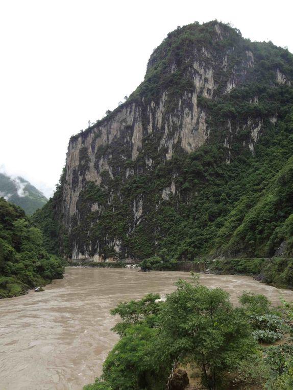 Quelques photos chinoises, entre brumes et cours d'eau
