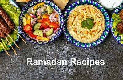 Ramadan 2020 : idées recettes