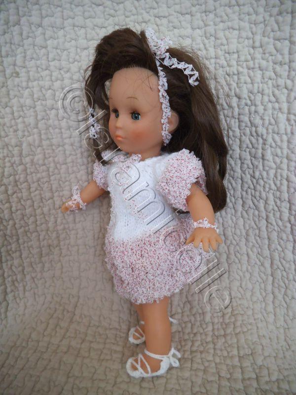 tutos gratuits poupées: robes pour poupée de 33 et 43 cm