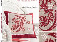 Livre Belles Lettres & Marquoirs en rouge et blanc