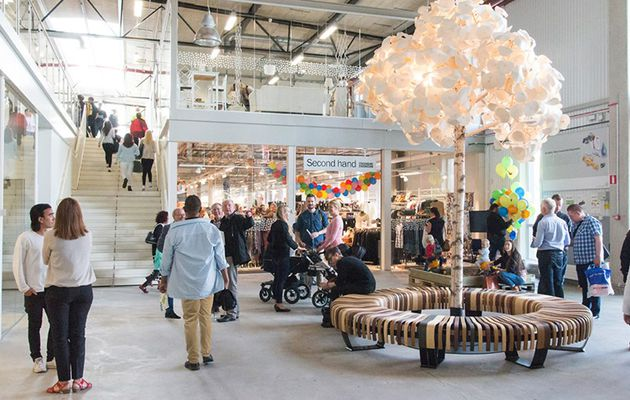 Le premier centre commercial de produits recyclés vient d'ouvrir ses portes en Suède