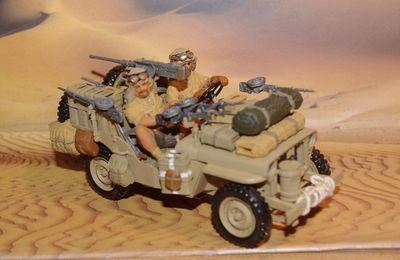 Jeep commando SAS  au 1/35 (Tamiya - par Jean-Pierre B.)