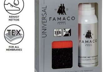 Famaco mousse nettoyante & kids (kit avec éponges) - cleaning foam set