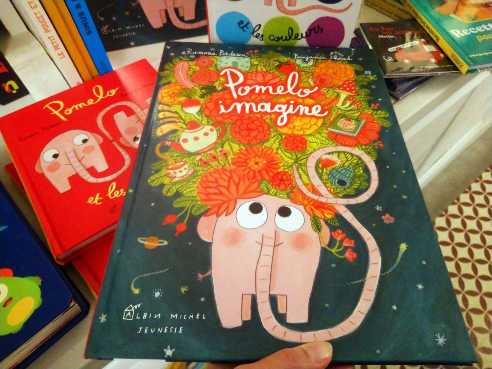 Pomelo imagine de Ramona Badescu et Benjamin Chaud, Albin Michel Jeunesse, NOUVEAUTE, 14,50 Euros, à partir de 4 ans
