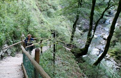 Les gorges du Pont du Diable, l'abbaye d'Aulps, Morzine, ...