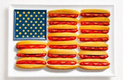 Bon appétit - Drapeau - USA - Hot-dog - Picture - Free