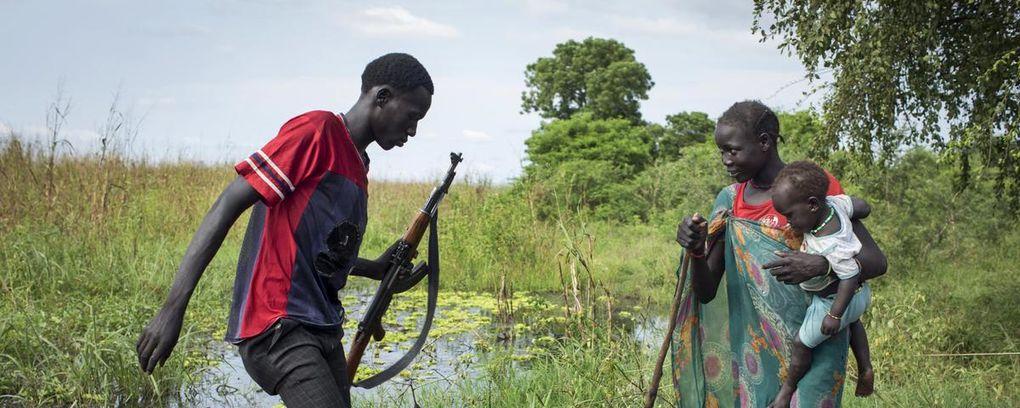 Imágenes desesperación, hambre y muerte en Sudán del Sur.- El Muni.