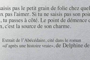 Delphine de Vigan - 4 Citations