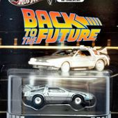 DELOREAN TIME MACHINE HOT WHEELS 1/64. - car-collector.net: collection voitures miniatures
